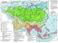 Евразия. Географические пояса и природные страны